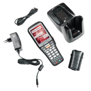 Терминал сбора данных DS5 (4.3 inch, 2D, wifi, android, 2gb, 4 gb, Numeric, IP64, 5200 mAh, подставка)